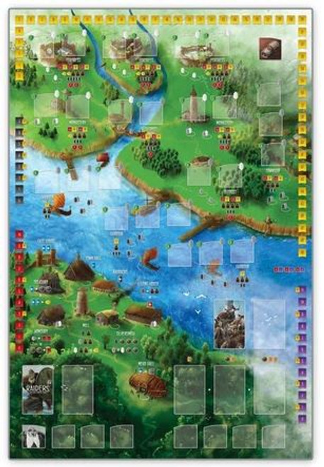 Raiders of the North Sea Playmat - Cerberus Games
