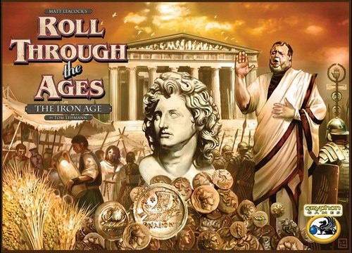 Roll Through the Ages Expansion The Iron Age - Cerberus Games