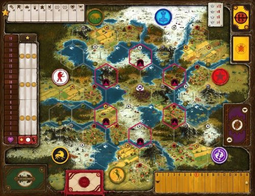 Scythe Expansion Board Extension - Cerberus Games