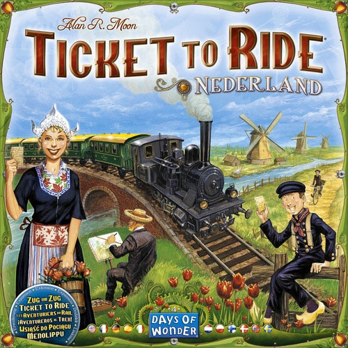 Ticket to Ride Expansion Nederland - Cerberus Games