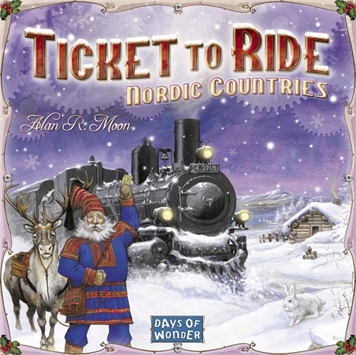 Ticket to Ride Nordic Countries - Cerberus Games