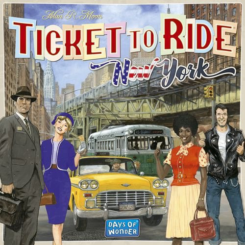 Ticket to Ride New York - Cerberus Games