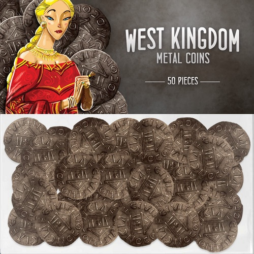 West Kingdom Metal Coins - Cerberus Games