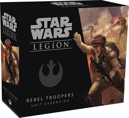 Star Wars Legion Expansion Wave 1 Rebel Troopers - Cerberus Games