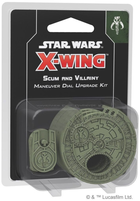 Star Wars X-Wing Expansion Dial Scum and Villainy Maneuver Dial Upgrade Kit - Cerberus Games