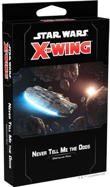 Star Wars X-Wing Expansion Pack Never Tell Me the Odds Obstacles Pack - Cerberus Games