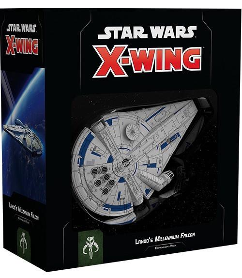 Star Wars X-Wing Expansion Wave 1 Lando's Milleninnium Falcon - Cerberus Games