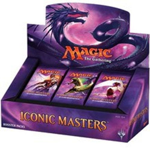 Iconic Masters Booster Box - Cerberus Games