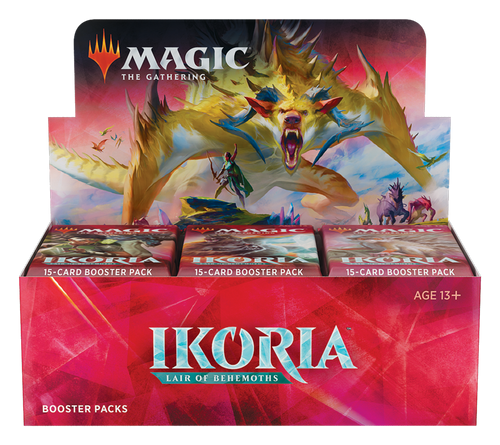 Ikoria Lair of Behemoths Draft Booster Box - Cerberus Games