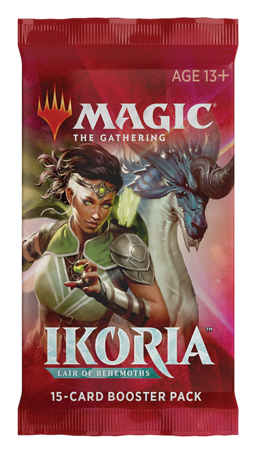 Ikoria Lair of Behemoths Draft Booster Pack - Cerberus Games