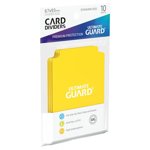 Ultimate Guard Card Dividers 10 Pack - Cerberus Games