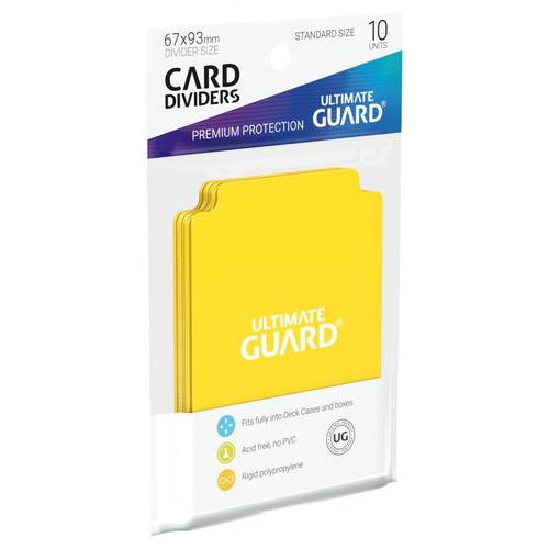 Ultimate Guard Card Dividers 10 Pack - Cerberus Games