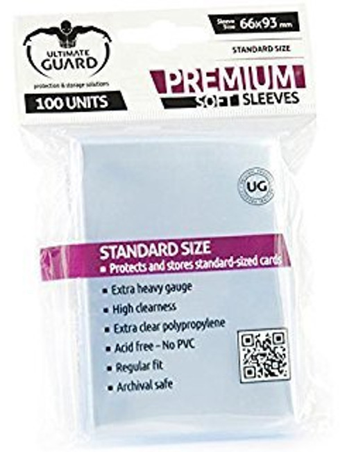 Ultimate Guard Sleeves Soft Premium - Cerberus Games
