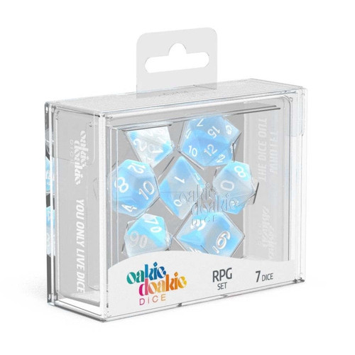 Oakie Doakie Dice Glow in the Dark RPG Set - Cerberus Games