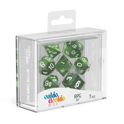 Oakie Doakie Dice Marble RPG Set - Cerberus Games