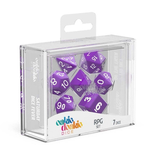 Oakie Doakie Dice Solid RPG Set - Cerberus Games