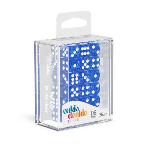 Oakie Doakie Dice D6 12mm Speckled Set (36ct) - Cerberus Games