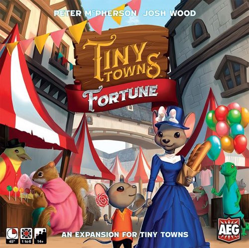 Tiny Towns Expansion Fortune - Cerberus Games