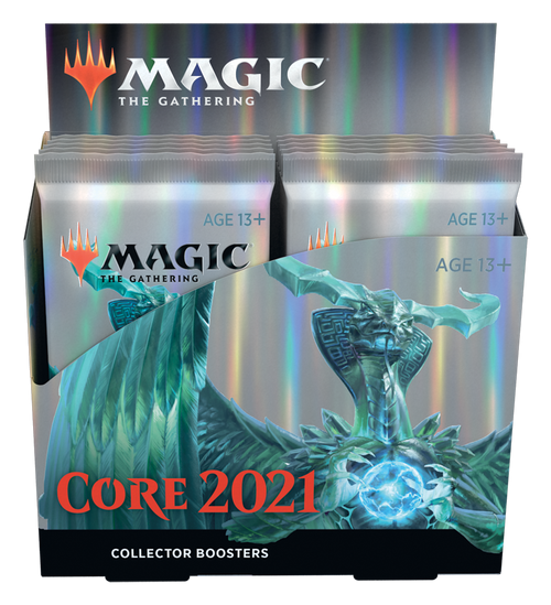 Core Set 2021 Collector Booster Box - Cerberus Games