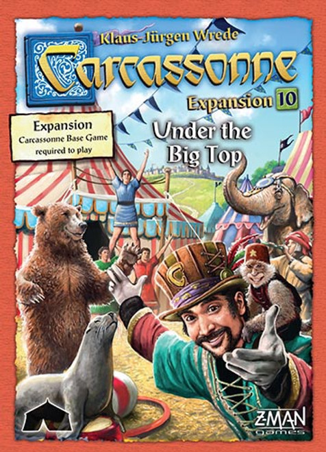 Carcassonne Expansion Under the Big Top - Cerberus Games