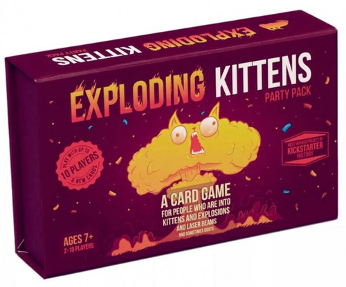 Exploding Kittens Party Pack - Cerberus Games