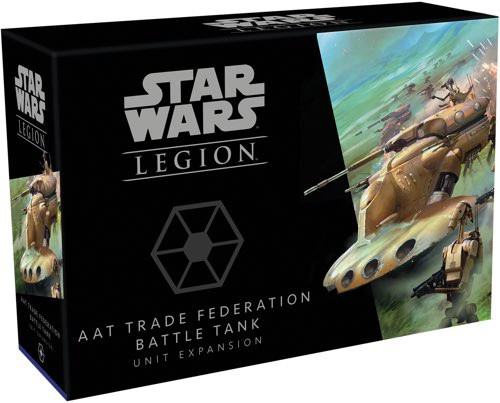 Star Wars Legion Expansion Wave 10 AAT Trade Federation Battle Tank Unit