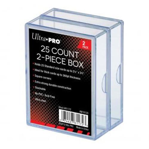 Ultrapro Storage Box 2-Piece 25ct 2 Pack