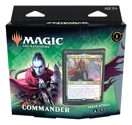 Zendikar Rising Commander Deck