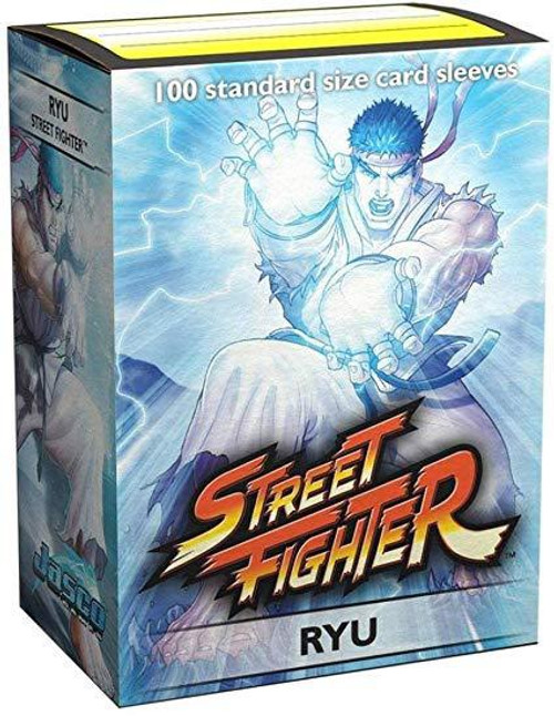Dragon Shield Art Sleeves Street Fighter