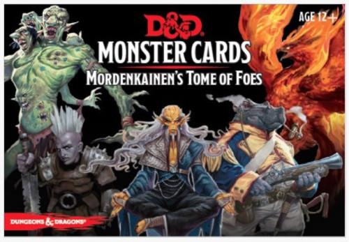 Spellbook Cards Mordenkainen's Tome of Foes