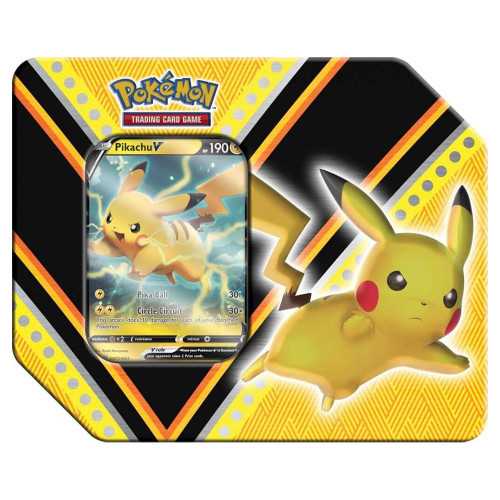 Pokemon Trading Card Game V Powers Pikachu V Tin