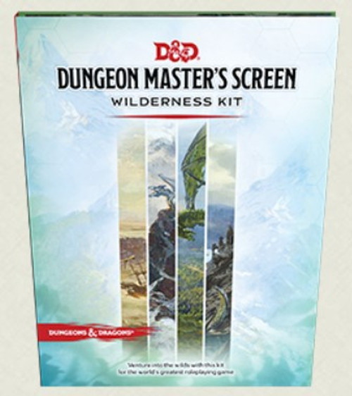 Dungeon Master Screen Wilderness Kit