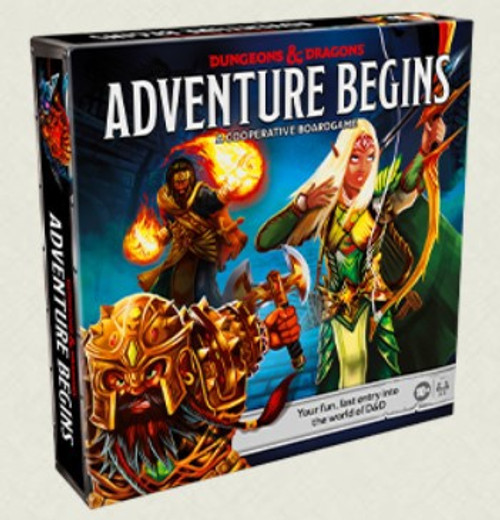 Dungeons and Dragons Adventure Begins