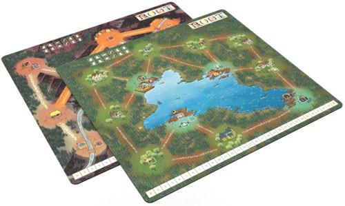 Root Mountain/Lake Playmat