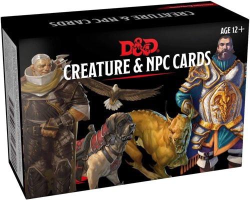 Spellbook Cards Creature & NPC Cards
