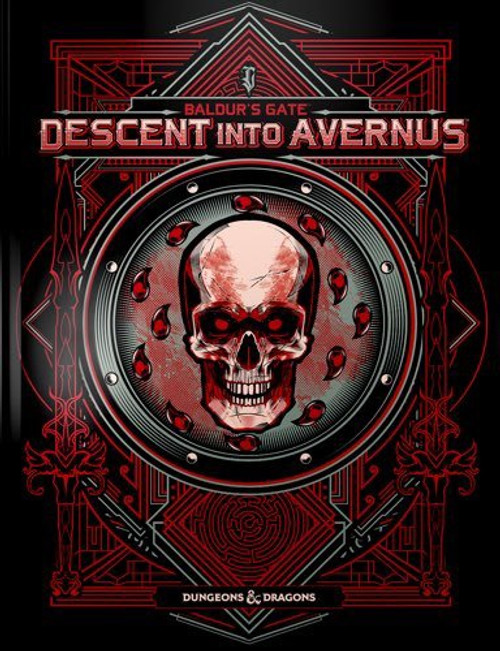 Book Descent into Avernus Special Edition