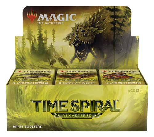 Time Spiral Remastered Draft Booster Box