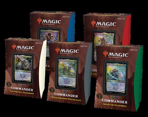 Magic: The Gathering Strixhaven: School of Mages Commander Decks