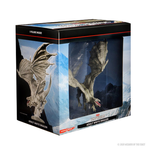 Icons of the Realms Adult White Dragon