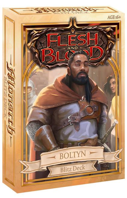 Monarch Blitz Hero Deck - Boltyn