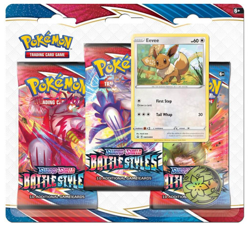 Battle Styles Three Booster Blister