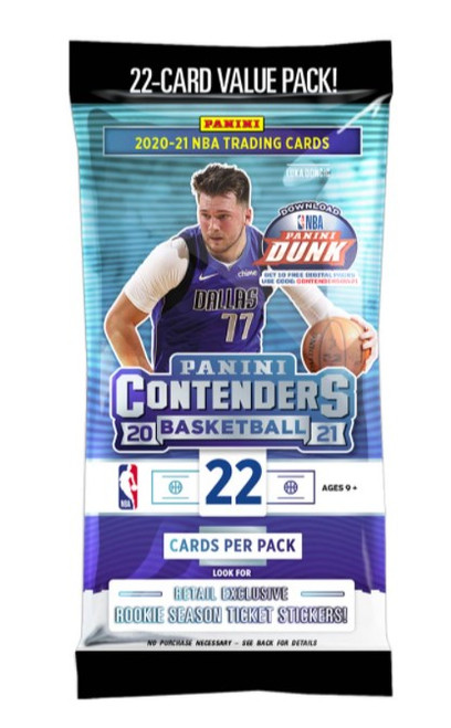 Contenders 2020-21 Basketball Fat Pack