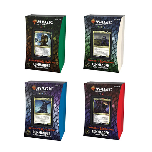 Magic: The Gathering Adventures in the Forgotten Realms Commander Decks