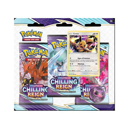 Chilling Reign Three Booster Blister