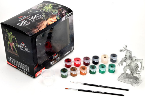 D&D Nolzurs Marvelous Paint Night Kit 4 Dire Troll