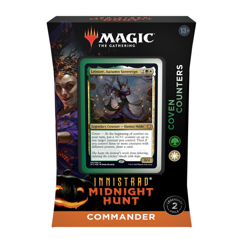 Magic: The Gathering Innistrad: Midnight Hunt Coven Counters Commander Deck