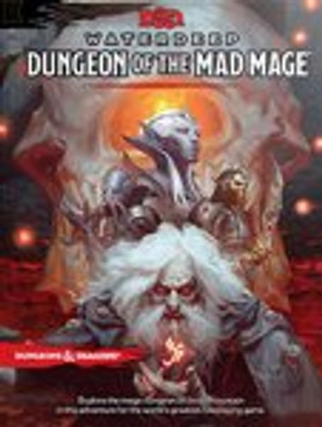 Book Waterdeep Dungeon of the Mad Mage - Cerberus Games