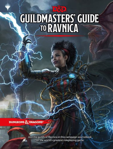 Book Guildmaster's Guide to Ravnica - Cerberus Games