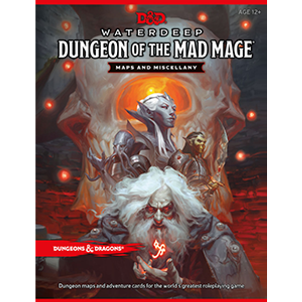Maps and Miscellany Waterdeep Dungeon of the Mad Mage - Cerberus Games