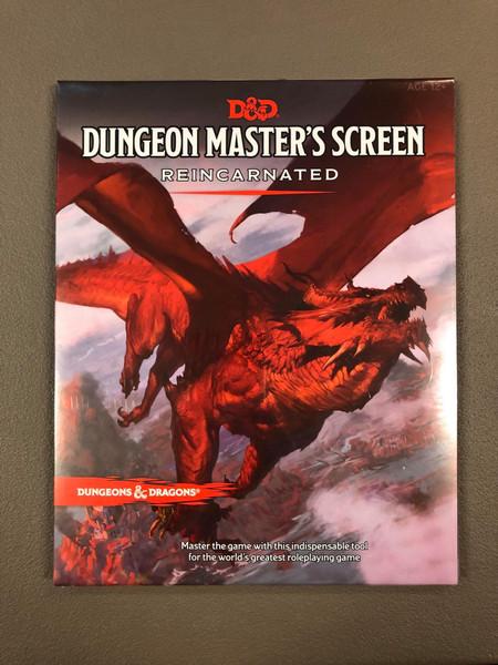 Dungeon Master Screen Reincarnated - Cerberus Games